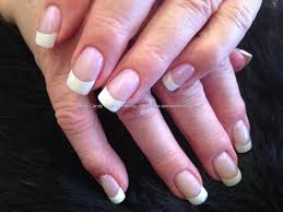 acrylic nails french manicure how you can do it at home