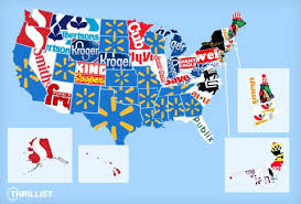 popular grocery stores most popular grocery stores by state u s grocery store map