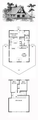 a frame house plans with loft 47 best a frame house plans images on architecture