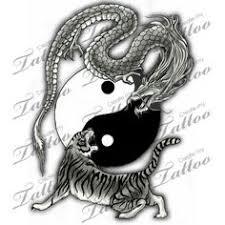 marketplace tiger and yin yang 2794 createmytattoo