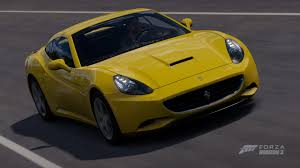 Ferrari California Light Blue - forza horizon 3 cars