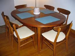 teak dining room sets skov danish teak expandable dining table