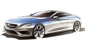 car design sketch u0026 drawing mercedes benz s class coupe youtube