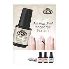 natural nail boost gel poster looking good lcn