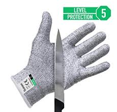 gant de protection cuisine anti coupure paire de gants anti coupures twinzee protection de niveau 5