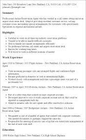 Hostess Job Duties Resume by Resume For Passenger Service Agent 9274