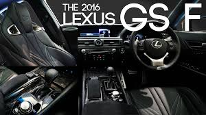 lexus gs length 2016 lexus gs f interior design u0026 features レクサス gs f youtube