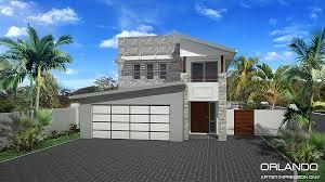 double storey narrow home design home design tullipan homes