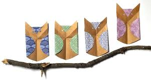 paper owl craft fold a parliament of owls moms and crafters