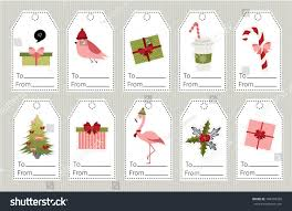 set christmas year gift tags stock vector 704334358 shutterstock