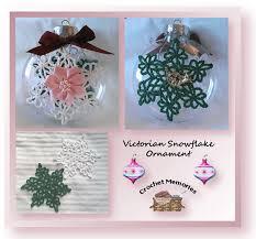 snowflake ornament free ornament pattern