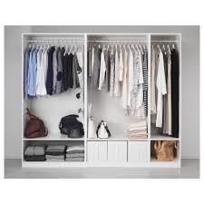 closets without doors pax wardrobe white 250x58x201 cm ikea