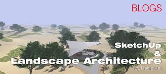 tutorial blender terrain sketchup and landscape architecture sketchup 3d rendering