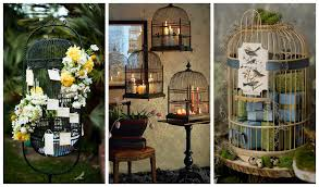 Bird Cage Decoration Repurposed Bird Cages Outdoor Decorating Recycled Things