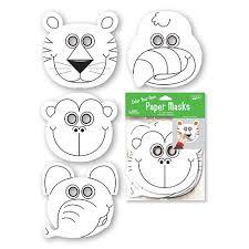 8 images jungle animal printable masks jungle animal