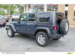 rubicon jeep blue 2008 jeep wrangler unlimited rubicon 4x4 in steel blue metallic