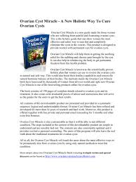 The Miracle Book Pdf Ovarian Cyst Miracle Pdf Pdf Archive