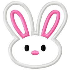 easter bunny face clipart u2013 happy easter 2017