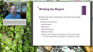 writing a case analysis paper writing the case study report lecture 11 youtube