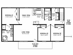 old mobile home floor plans ranch winston