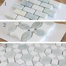 Marble Mosaic Backsplash Tile by Best 25 White Mosaic Tiles Ideas On Pinterest White Mosaic