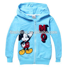 fashion girls cartoon zipper up sweatshirt kids hoodie buy