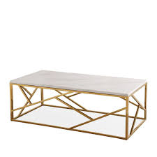 tov furniture modern gayle gold coffee table tov oc3742 u2013 minimal