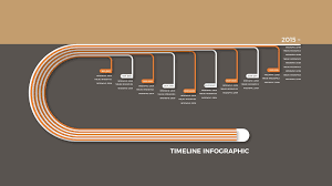 Free Powerpoint Timeline Template Infographic Timeline Free Powerpoint Template Infographicon