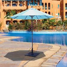 5 Foot Umbrella Patio Decor Tips Charming Pool Deck Shade With 5 Ft Umbrella Aqua Finish
