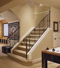 Open Staircase Ideas Finished Basements Plus Staircase Idea Stairs Pinterest