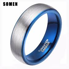 does the woman buy the s wedding band aliexpress buy 8mm men s brushed silver tungsten carbide