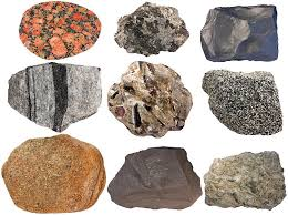 types of rocks composition of the crust chemical elements minerals rocks