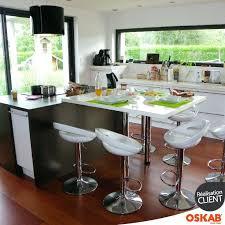 table escamotable cuisine ilot central cuisine avec table cuisine avec ilot central et table