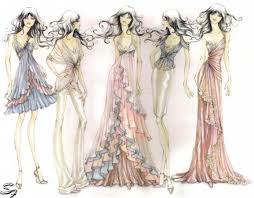 111 best fashion sketches images on pinterest fashion