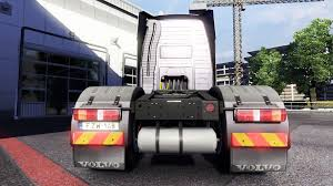 new volvo truck 2015 lights and mud flaps at volvo for euro truck simulator 2
