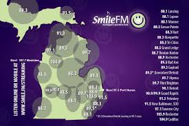 Monroe Michigan Map by About U003e Stations Smile Fm Michigan U0027s Positive Hits