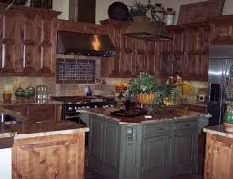 Medium Brown Color Kitchen Cabinets  The Colors Of Rustic Kitchen - Medium brown kitchen cabinets
