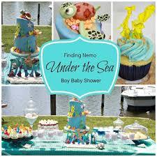 the sea baby shower decorations inspiring nemo themed baby shower 92 about remodel baby shower