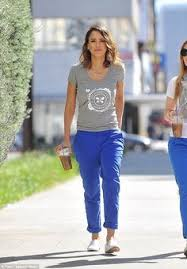 target black friday woodland hills jessica alba enjoys family shopping trip to budget store target