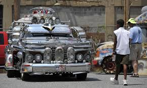 after two decades on the road art cars still rev up the