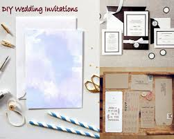 diy simple diy wedding invitations kits home decoration ideas