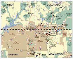 Map Of Arizona And New Mexico by Saint John U0027s Episcopal Church Farmington