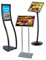 restaurant table top display stands restaurant sign holders sidewalk signs menu boards table tents