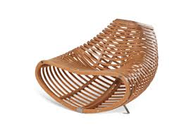 contemporary compressed beech wood design chairs by sandro lopez