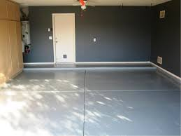 grey concrete wall garage paint color ideas with white modern