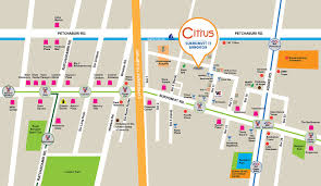 Bangkok Map Boutique 4 Star Hotel On Sukhumvit Soi 11 Bangkok Citrus 11
