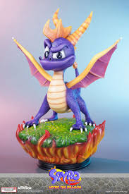 spyro the dragon spyro statue collectibles busts action