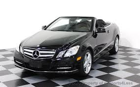 white mercedes convertible 2012 used mercedes certified e350 convertible amg sport
