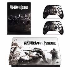 microsoft siege rainbow six siege skin sticker decal for microsoft xbox one x