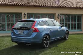 volvo sports cars 2015 volvo v60 t5 sport wagon exterior 006 the truth about cars